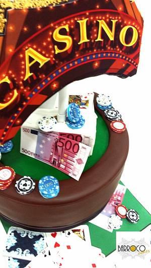 casino - Cake by barroco cakes