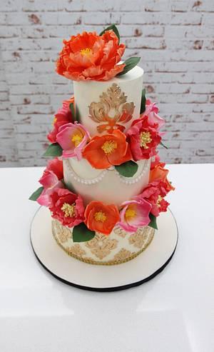 White beauty !  - Cake by Signature Cake By Shweta