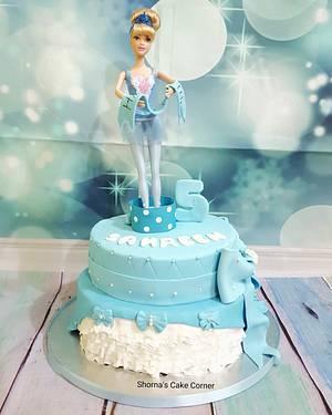 My beautiful princess cake  - Cake by Shorna's Cake Corner