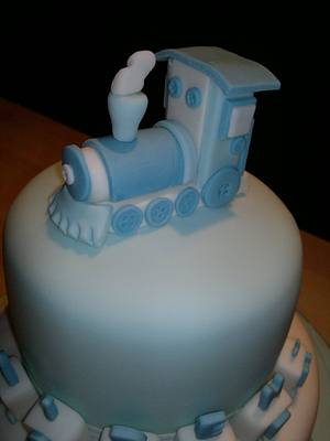 Aiden's train - Cake by AWG Hobby Cakes