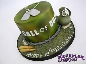 Call Of Duty 16th Birthday Cake - Cake by Sam Harrison