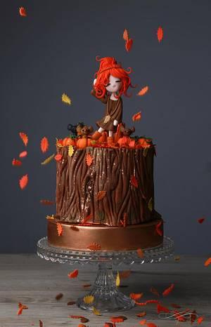 Hello Autumn ! - Cake by VanilleCouture