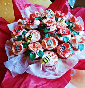 Fall Bouquet - Cake by Princess of Persia