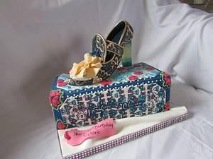 irregular choice - Cake by jen lofthouse