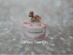 Babyshower Girl - Cake by Carla