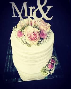 Wedding cake  - Cake by Mrs.magic_Emina