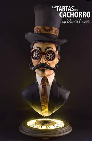 Steam Cakes - a steampunk collab - Cake by Las tartas del Cachorro by Daniel Casero