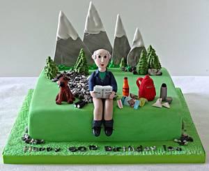 mountain climber - Cake by claire mcdonough
