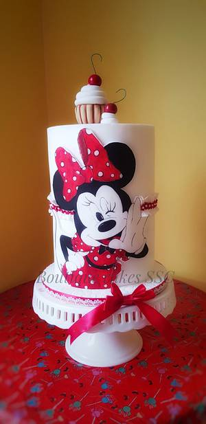 Minnie mouse cake - Cake by DDelev