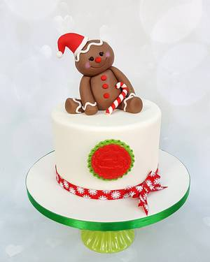 Gingerbread man - Cake by Vanilla Iced