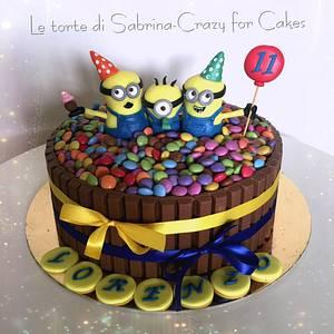 Minion cake - Cake by Le torte di Sabrina - crazy for cakes
