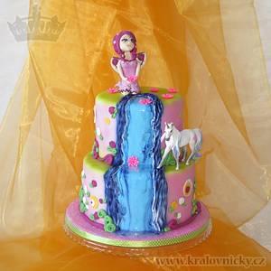 Mia and Me - Cake by Eva Kralova