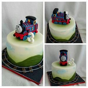 Thomas the train - Cake by Anka