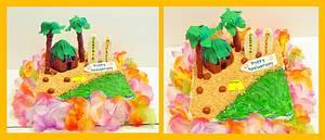 Aloha - Cake by Wendy