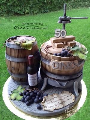 Let's wine - Cake by Dolcidea creazioni