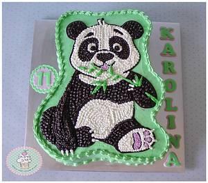Panda - Cake by Planet Cakes