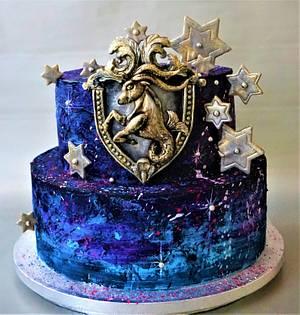 Zodiac Capricorn - Cake by Torty Zeiko