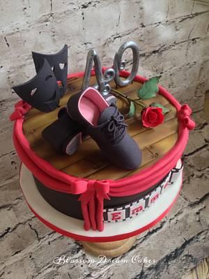 Love the Arts - Cake by Blossom Dream Cakes - Angela Morris