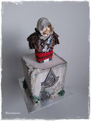 Assassins creed - Cake by Zuzana Kmecova