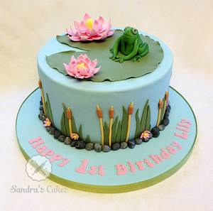 Lily - Cake by Sandra's cakes