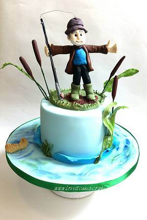 Gone fishing - Cake by Love it cakes