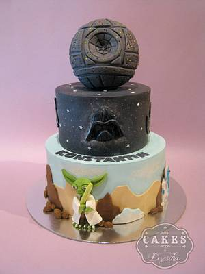 STAR WARS CAKE - Cake by Dzesikine figurice i torte