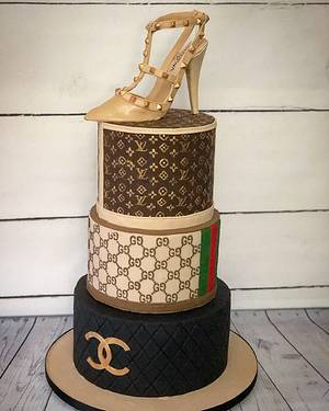 Designer brands - for the love of fashion - cake - Cake by Maria-Louise Cakes