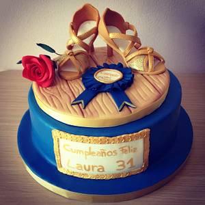 Un, dos, tres ...cha cha cha! - Cake by Valeria Antipatico