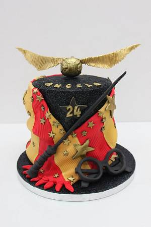 Harry Potter and  Quidditch - Cake by Artym
