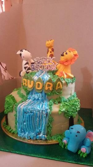 Jungle cake - Cake by Chanda Rozario