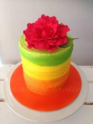 citrus buttercream - Cake by cakesbylucille
