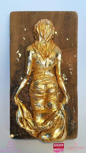 Gold Soul - Cake by Fashflower's cake by Margherita Ferrara