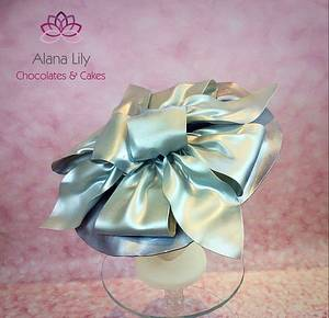 Royal Ascot Hats and Fashions 2016 - Silver - Cake by Alana Lily Chocolates & Cakes