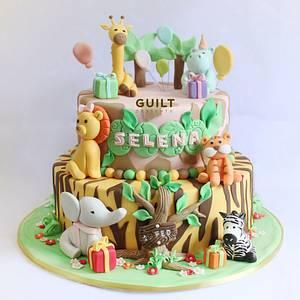 Jungle Cake - Cake by Guilt Desserts