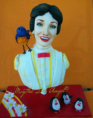 Mary Poppins cake collaboration  - Cake by Maythé Del Angel