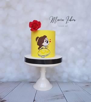 The Beauty and the Beast - Cake by Maira Liboa