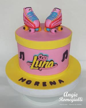 Soy Luna Cake - Cake by angieromegialli