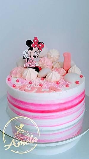 minnie cake  - Cake by Torte Amela