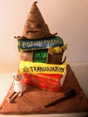 Harry Potter cake  - Cake by Coffelover