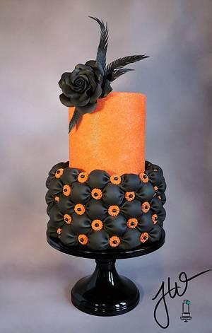 Happy Halloween - Cake by Jeanne Winslow