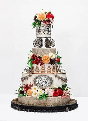 French Provincial OSSAS cake - Cake by Pamela Jane