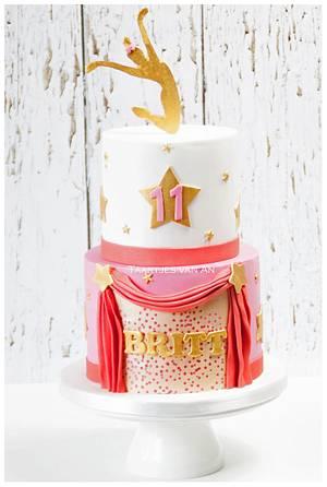Theatre Dance cake  - Cake by Taartjes van An (Anneke)