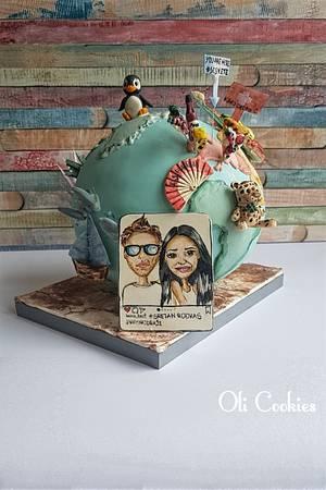 Love - Cake by Olivera Vlah