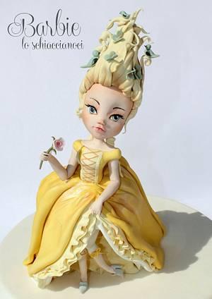 Marie Antoinette 2nd Version - Yellow, Birds and Butterflies - Cake by Barbie lo schiaccianoci (Barbara Regini)