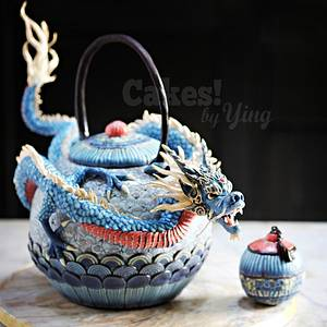 Dragon Teapot - Cake by Cakes! by Ying