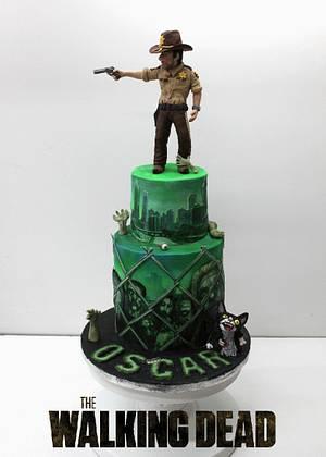 Walking Dead Birthday cake - Cake by Artym