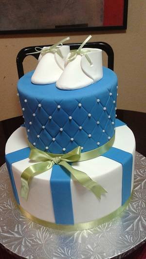 Baby Shower Cake - Cake by Rosa