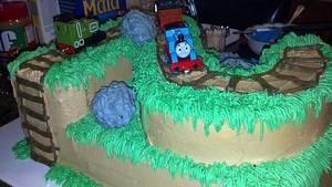 Thomas The Train Cake - Cake by Tonya