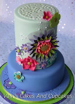 Millie's Sweet Sixteen <3 - Cake by Vavijana Velkov