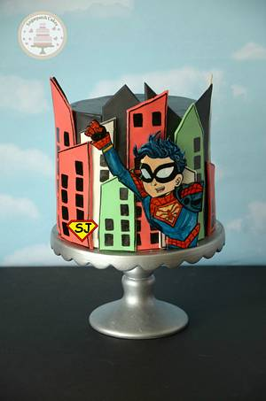 Spiderboy for Superjosh! - Cake by Sugarpatch Cakes